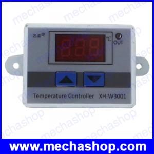 เครื่องควบคุมอุณหภูมิพร้อมเซนเซอร์ DC12V Digital LED Temperature Controller 10A Thermostat Control Switch Probe
