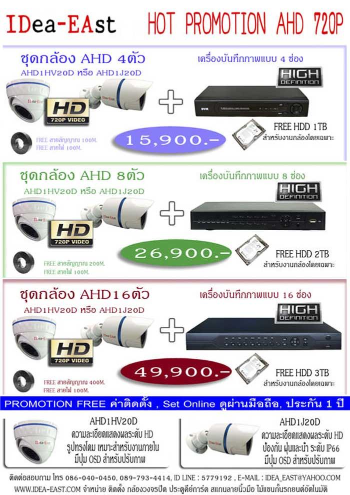 กล้องวงจรปิด ความคมชัดระดับ HD ราคาถูก ชลบุรี พัทยา ระยอง