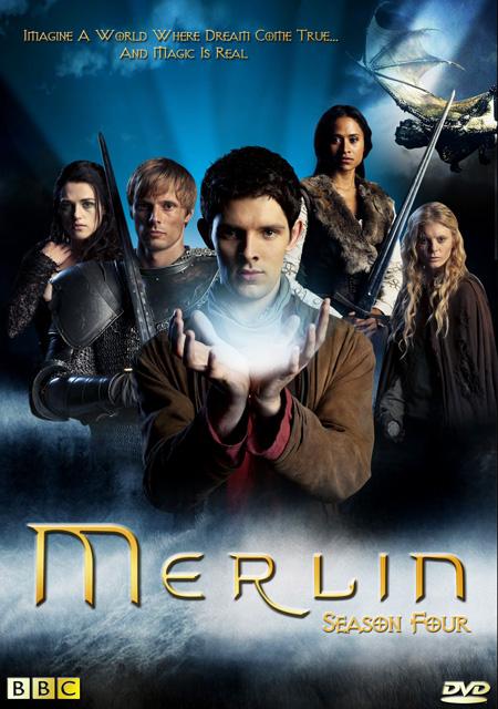 Merlin Season 4 / โคตรสงครามมังกรไฟ พ่อมดเมอร์ลิน ปี 4 / 4 แผ่น DVD (พากษ์ไทย+บรรยายไทย)