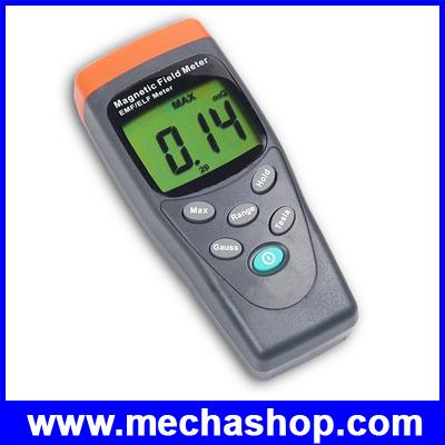 เครื่องวัดสนามแม่เหล็ก มิเตอร์ตรวจวัดแม่เหล็กไฟฟ้า GaussMeter EMF ELF Magnetic Field Tester 30Hz - 300Hz TM-191