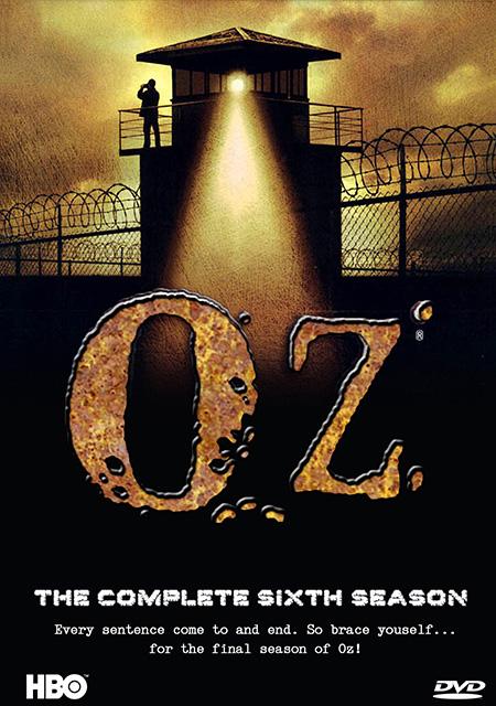 Oz Season 6 / คนโหด คุกเดือด ปี 6 / 3 แผ่น DVD (บรรยายไทย)