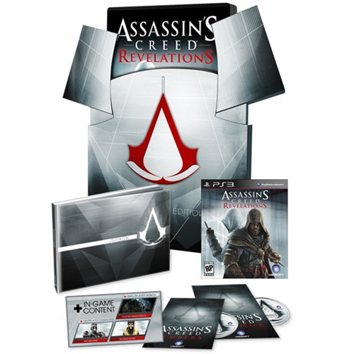 PS3: Assassin's Creed - Revelations Collector Edition(Z3) [ส่งฟรี EMS]