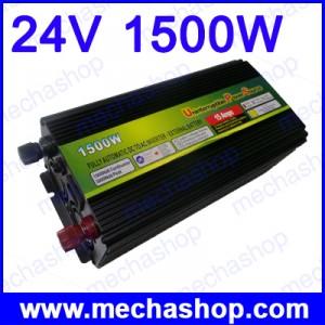 อินเวอร์เตอร์ พร้อมระบบชาร์ทแบตเตอรี่สำรองไฟดับ Power Inverter uninterruptible power source 24V 1500W UPS