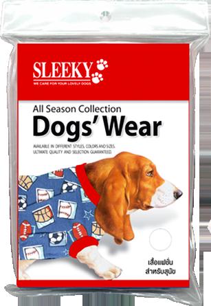 SLEEKY - เสื้อสุนัข เบอร์ 5