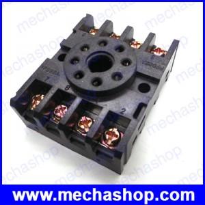 ซ็อกเก็ตรีเลย์ ซ็อกเก็ตสำหรับรีเลย์ Relay Socket PF083A 8 ขา สำหรับ DH48S ST3P AH3-3 MK2P JTX-2C