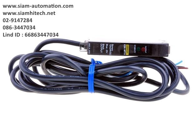 Fiber Optic Sensor ยี่ห้อ Omron รุ่น E3X-NT11 (New)