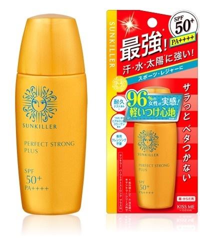 Sunkiller Perfect Strong plus SPF50+ PA++++ 30mL สูตรกันน้ำ กันเหงื่อจากญี่ปุ่นค่ะ
