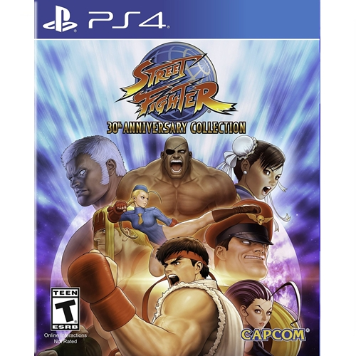 PS4: Street Fighter 30th Anniversary Collection (Z3) [ส่งฟรี EMS]