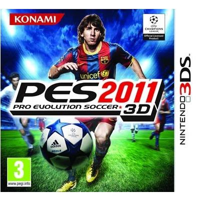 3DS: Pro Evolution Soccer 2011 3D (US) [ส่งฟรี EMS]