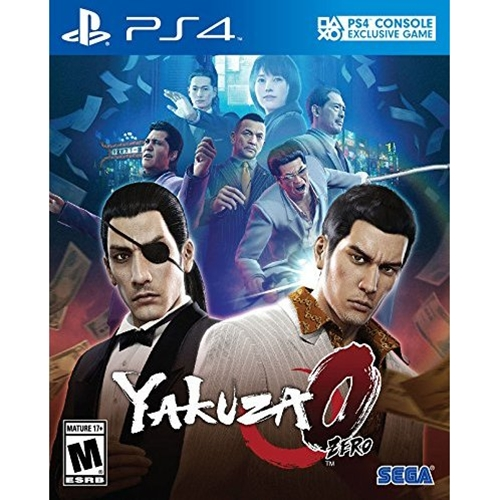 PS4: Yakuza 0 (Z2) [ส่งฟรี EMS]