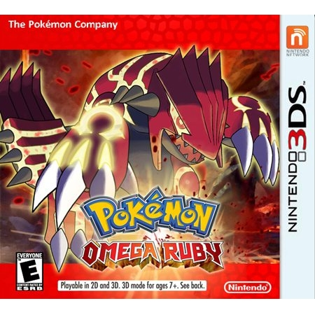 3DS: Pokemon Omega Ruby (US) [ส่งฟรี EMS]