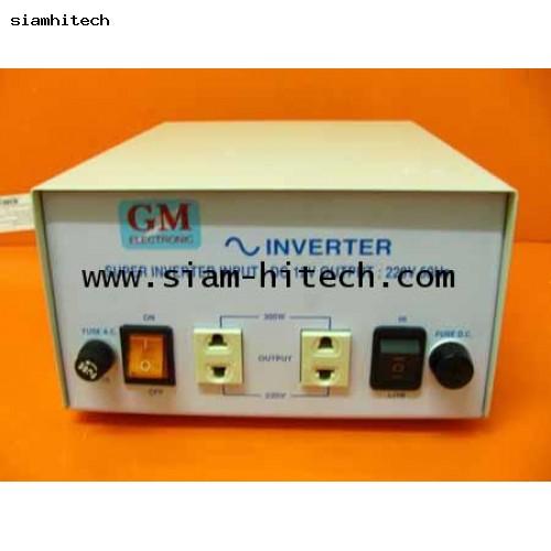 หม้อแปลงไฟฟ้า input DC 12V out220VAC 300 W (ใช้กับรถยนต์ของใหม่สั่งได้ขายทั้งปลีกและส่ง)
