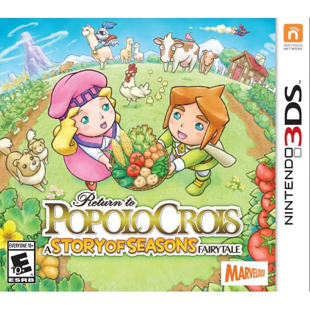 3DS : Return to PopoloCrois-Story of Seasons Fairy Tale (US) [ส่งฟรี EMS]