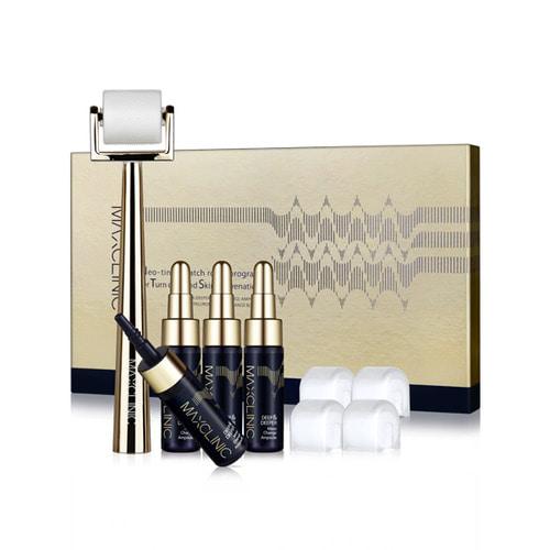เมโสหน้าใสจากเกาหลีของแท้ Max Clinic Meso Change Program (NTS Program) (1BOX-4 times) ชุดเมโสหน้าใส กระชับรูขุมขน หลุมสิว พร้อมอุปกรณ์ลูเลอร์ 5 หัว เซรั่มหน้าใส 5 แอ้ม ด้ามอุปกรณ์ 1 ชิ้น สามารถใช้งานได้ถึง 6 เดือน (พรีออเดอร์ รอของ 10-14 วันทำการ)