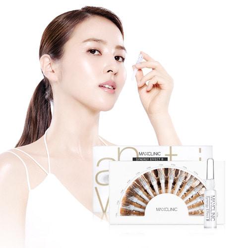 เมโสหน้าใส+โบท๊อกจากเกาหลีของแท้ Max Clinic synergy effect BTX ampoule (1.5ml * 14EA) หน้าเด้ง ย้อนวัย เติมร่องลึก ตึงกระชับมากเป็นเซรั่มที่เข้มข้นที่สุด ไม่ต้องเจ็บตัวกับการฉีดโบท๊อก ของแท้ (พรีออเดอร์ รอของ 10-14 วันทำการ)