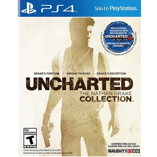 PS4: Uncharted The Nathan Drake Collection (Z3) [ส่งฟรี EMS]