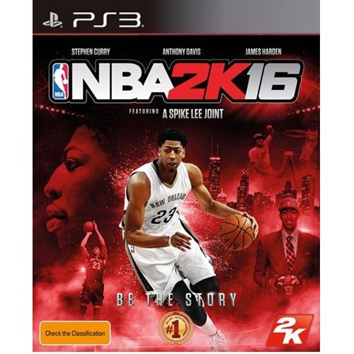 PS3: NBA 2K16 (Z3) [ส่งฟรี EMS]