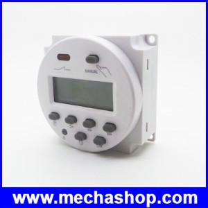 เครื่องตั้งเวลาดิจิตอล ตัวตั้งเวลา รายวัน รายสัปดาห์ มีแบตเตอรี่ lithium และรีเลย์ ในตัว 17 On/Off Digital Power Programmable Timer 24V