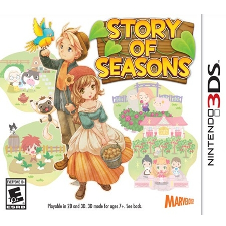 3DS: Story of Seasons (US) [ส่งฟรี EMS]