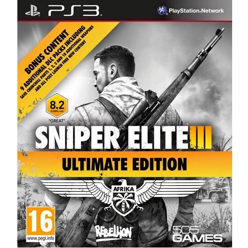PS3 Sniper Elite III - Ultimate Edition (Z2) [ส่งฟรี EMS]