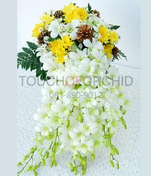 แจกันดอกไม้ Sweet White