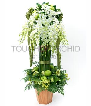 แจกันดอกไม้ Green Garden