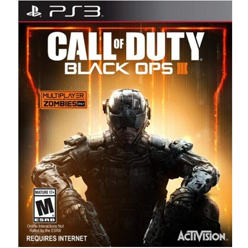PS3: Call of Duty Black Ops 3 (Z3) - Required Internet [ส่งฟรี EMS]