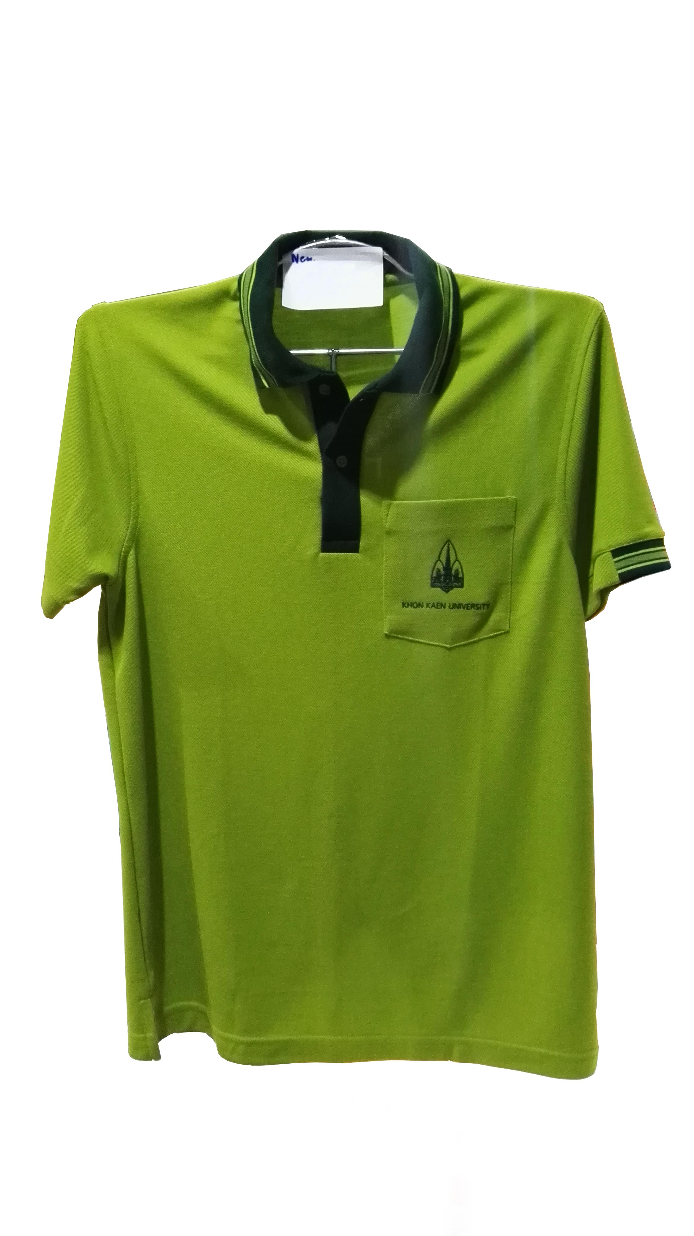เสื้อโปโลสีเขียวขี้ม้า 2XL(ชาย)
