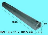 ยางกันกระแทก ตัวดี 9x11x104.50 cm