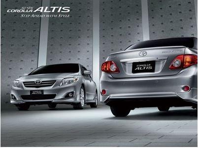 CD คู่มือการซ่อม วงจรไฟฟ้า รถยนต์ TOYOTA ALTIS 2008 เครื่องยนต์ 1ZZ-FE 3ZZ-FE 3ZR-FE