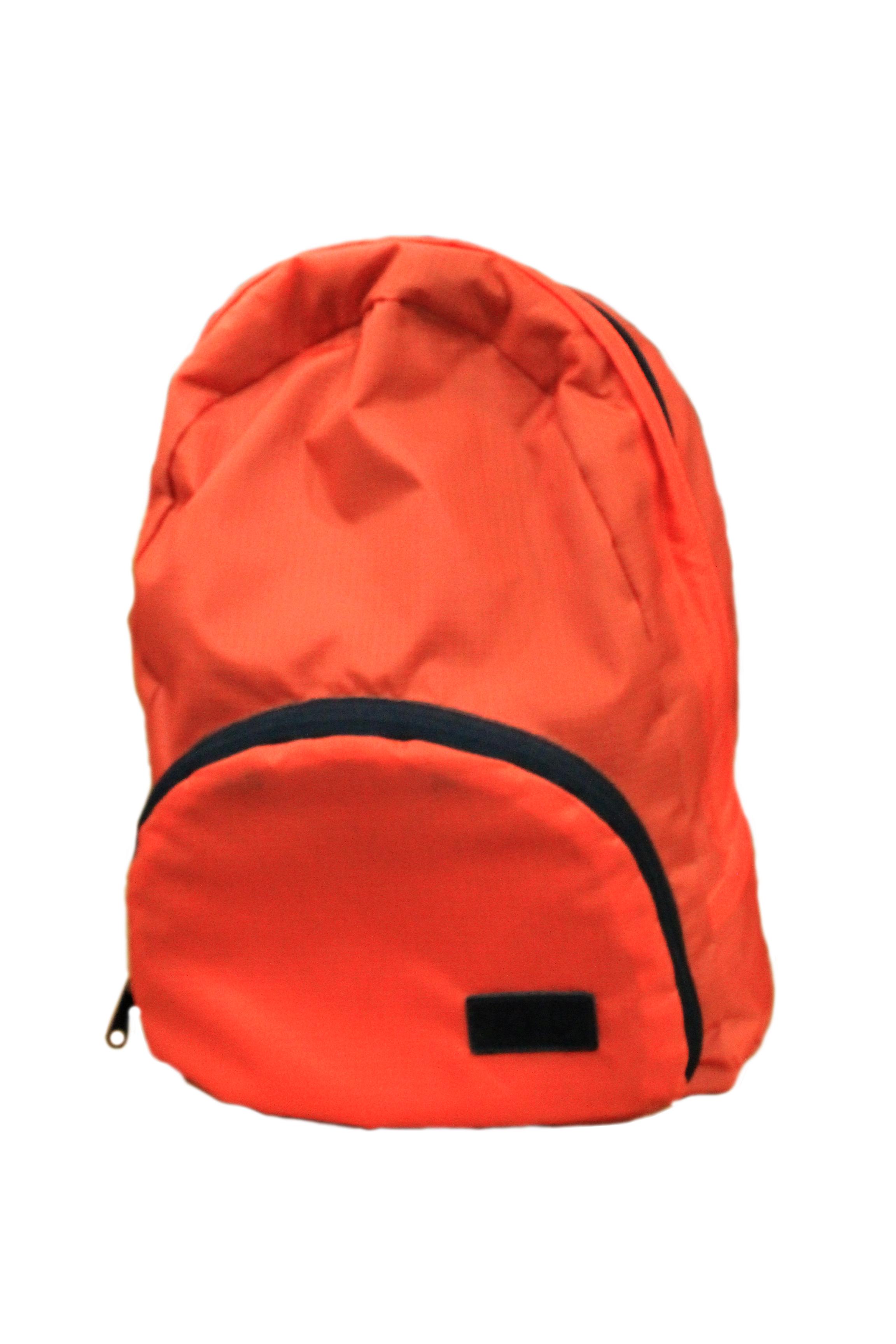 กระเป๋าเป้พับได้ สีแสด