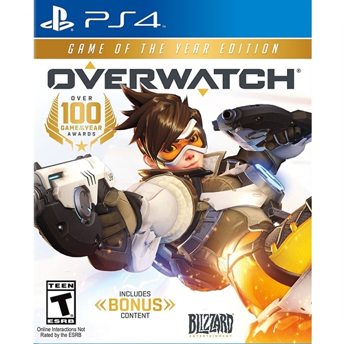 PS4: Overwatch - Game of The Year Edition (Z1) [ส่งฟรี EMS]