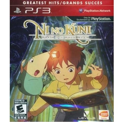PS3: Ni No Kuni : Wrath of the White Witch - Greatest Hit (Z1) [ส่งฟรี EMS]