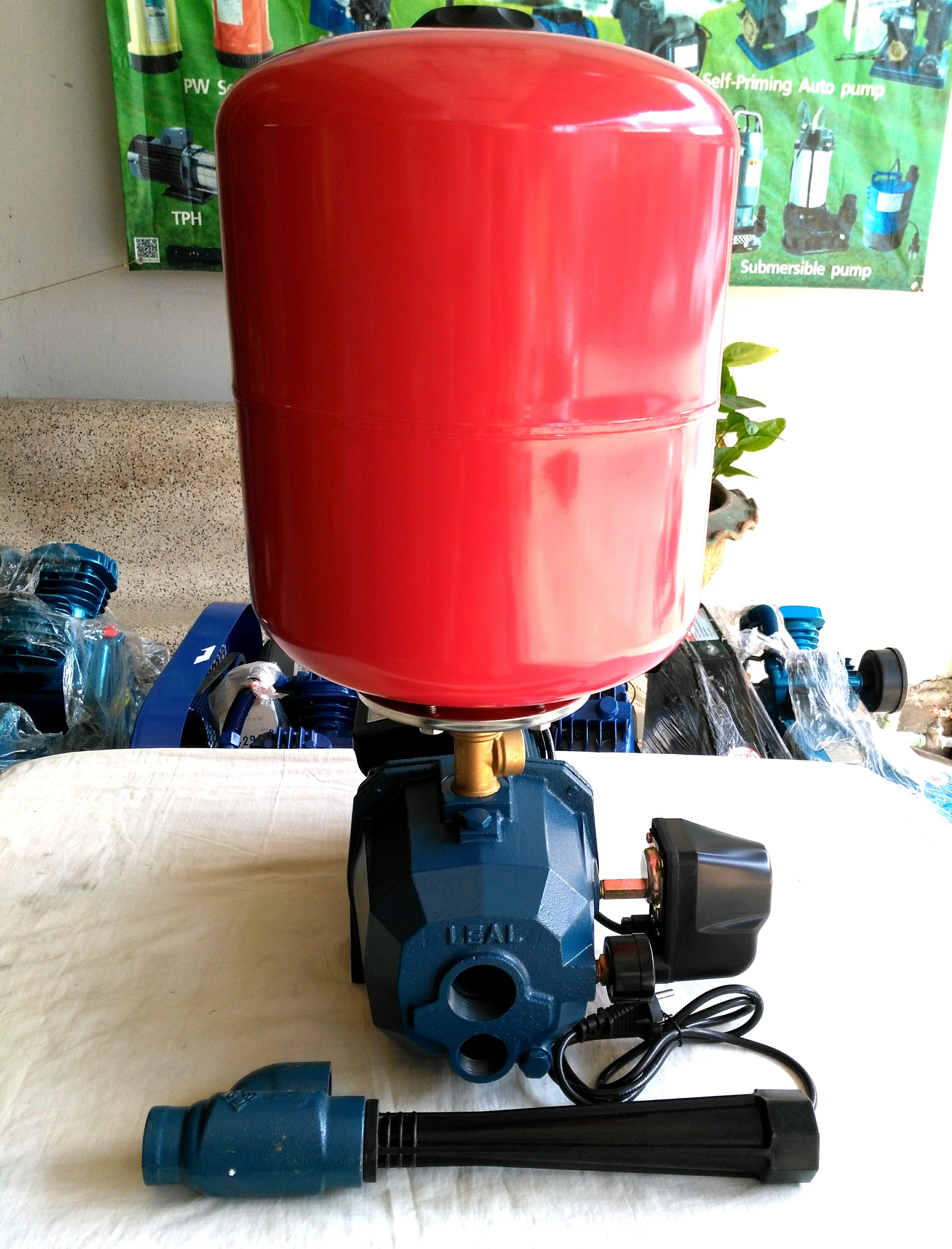 ปั๊มน้ำเจ็ทคู่ดูดบาดาล 1 HP บ่อ 4 นิ้ว LEAL รุ่น ADL11-25