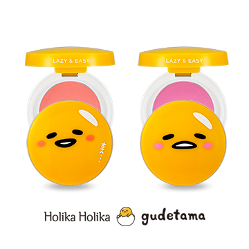 Holika Holika x Gudetama Lazy & Easy jelly Blusher (8,900 won)