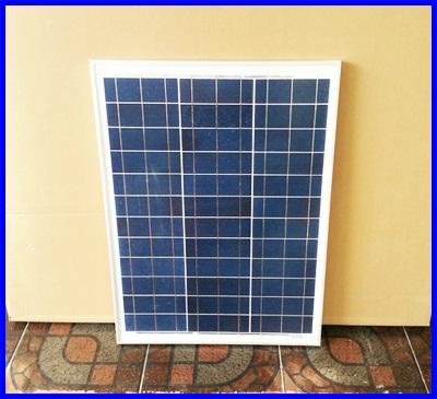แผงโซล่าเซลล์ พลังงานแสงอาทิตย์ Poly-Crystalline Silicon Solar Cell Module 40W (มาตราฐานยุโรป IEC TUV) แผงโซล่าเซลล์ ราคาพิเศษ
