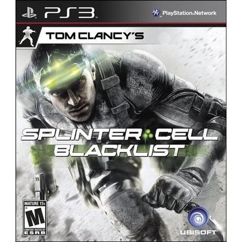 PS3: Tom Clancy's Splinter Cell - Blacklist (Z3) [ส่งฟรี EMS]