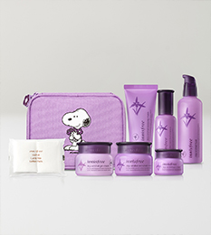 Innisfree x Snoopy JEJU ORCHID ENRICHED CREAM 2018 Lucky box 1box