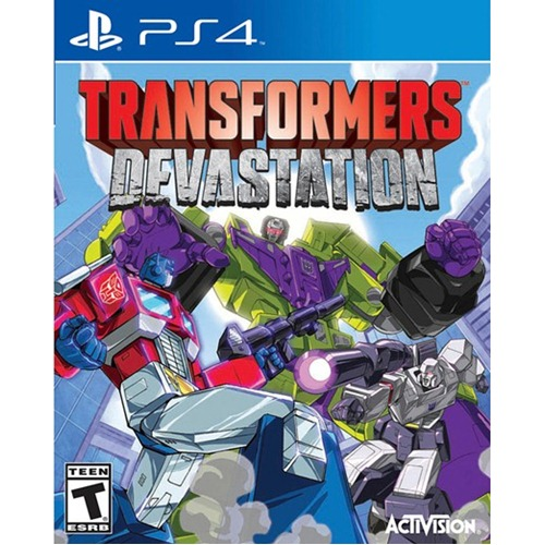 PS4: Transformers Devastation (Z All) [ส่งฟรี EMS]