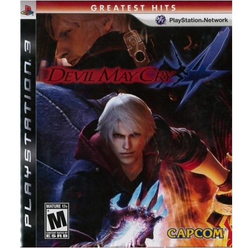 PS3: Devil May Cry 4 - Greatest Hits (Z1) [ส่งฟรี EMS]
