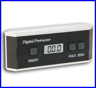 เครื่องวัดองศา เครื่องมุมดิจิตอล มิเตอร์วัดมุม Digital Protractor Angle Finder Inclinometer V-Groove 3-in-1 Angle Finder / Protractor / Level