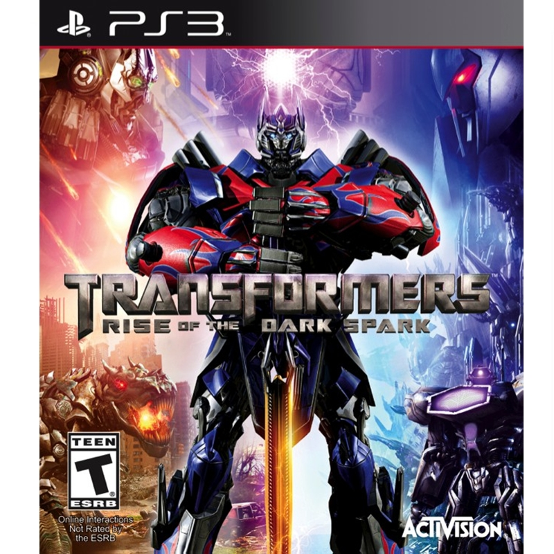 PS3: Transformers - Rise of The Dark Spark (Z All) [ส่งฟรี EMS]