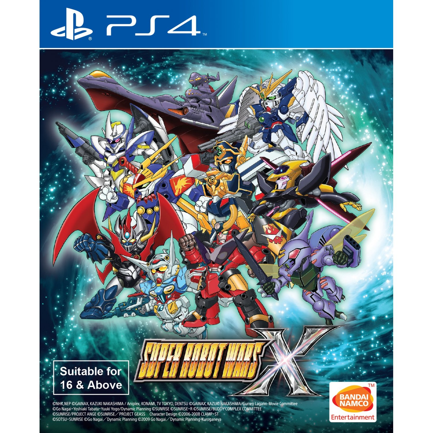 PS4: Super Robot Wars X - English (Z3) [ส่งฟรี EMS]
