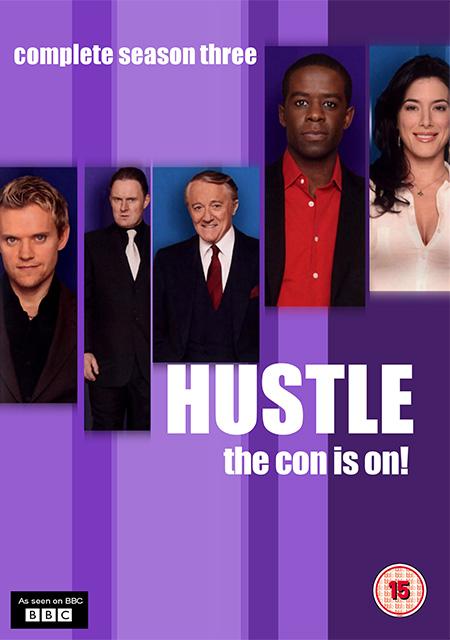 Hustle Season 3 / แก็งค์ตุ๋นระเบิด เชิดเงินสนั่นเมือง ปี 3 / 2 แผ่น DVD (พากษ์ไทย+บรรยายไทย)
