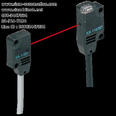 Photoelectric sensor ยี่ห้อ Panasonic รุ่น EX-11EBD (Used)