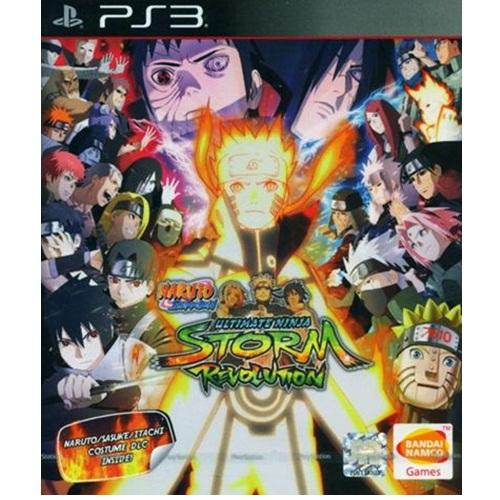 PS3: Naruto Shippuden: Ultimate Ninja Storm Revolution (Z All) [ส่งฟรี EMS]