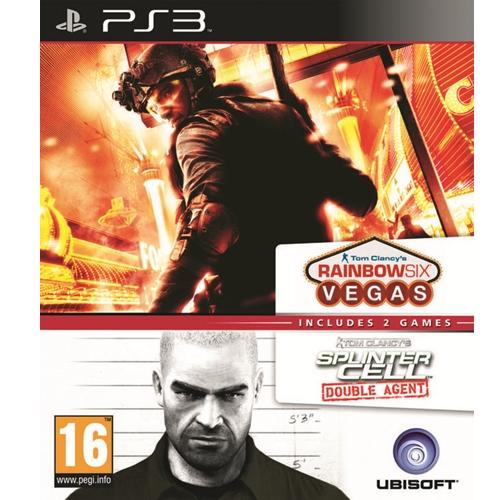 PS3: Tom Clansy's Rainbow Six Vegas + Tom Clancy's Splinter Cell Double Agent (Z3) [ส่งฟรี EMS]