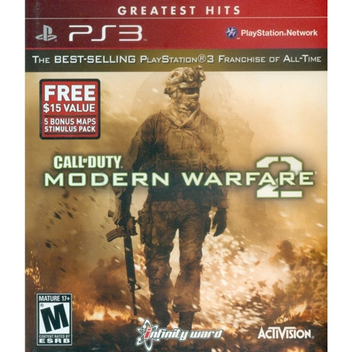 PS3: Call of Duty Modern Warfare 2 - Greatest Hits (Z1) [ส่งฟรี EMS]