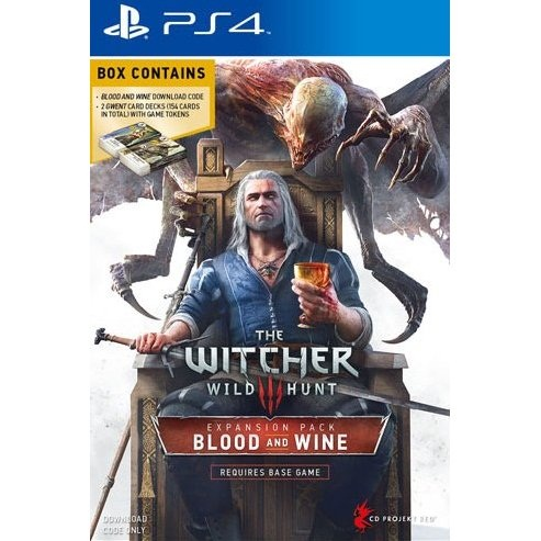 PS4: The Witcher 3 : Wild Hunt - Blood and Wine [Expansion Pack ] (Z3) (Download Code) *Requires The Base Game & Internet Connection / จำเป็นต้องมีเกมตัวหลัก และ ต้องการการ Internet สำหรับ Download [ส่งฟรี EMS]