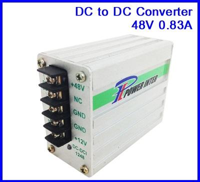 ดีซี คอนเวอร์เตอร์ เครื่องแปลงไฟ DC Converter 12VDC to 48VDC 0.83A